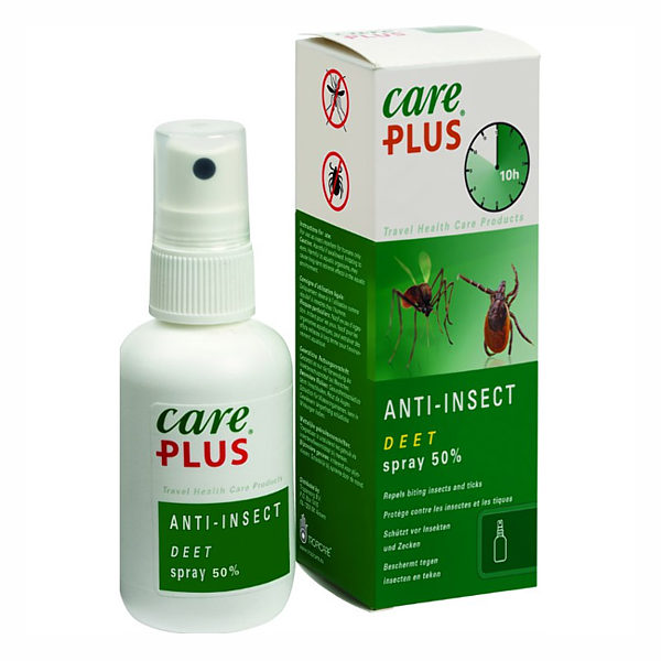 DEET 50% SPRAY 60ML - CARE PLUS