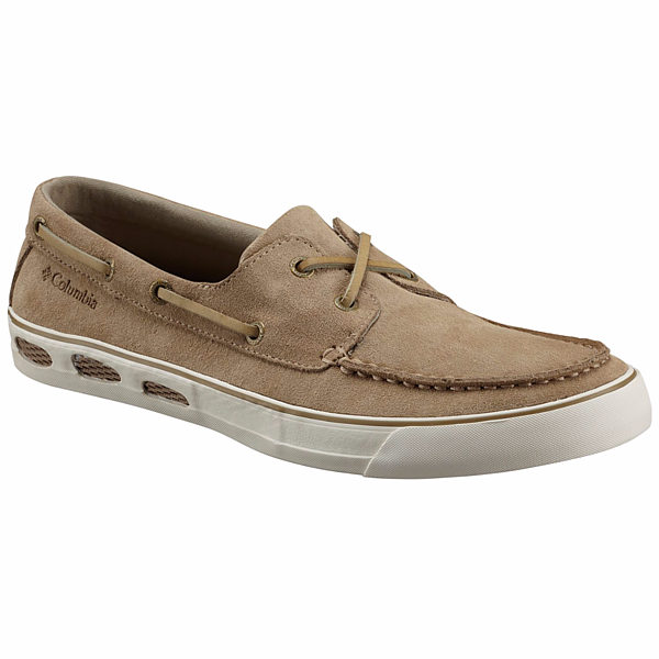 COLUMBIA VULC N VENT BOAT SUEDE