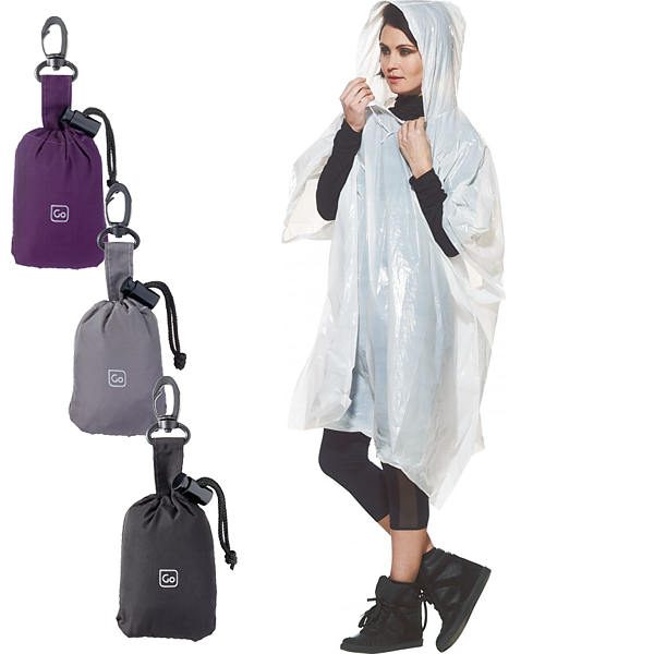 GO TRAVEL PONCHO AND POUCH