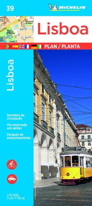 Lisboa 1:11.000. Plano e índice