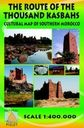 La ruta de las mil kasbas. Mapa cultural del sur de Marruecos. 1:400.000