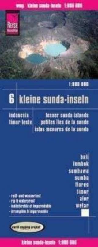 Islas menores de la sonda. Indonesia (1:800.000)
