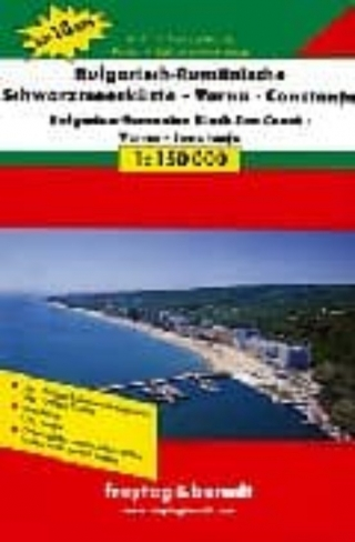Rumania, Bulgaria, Costa del Mar Negro (1:150.000)