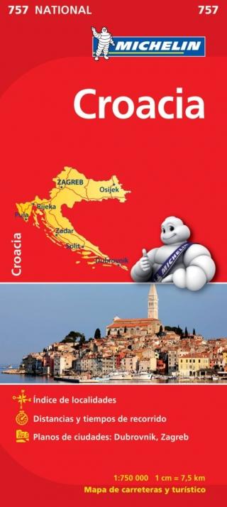 Croacia (1:750.000)