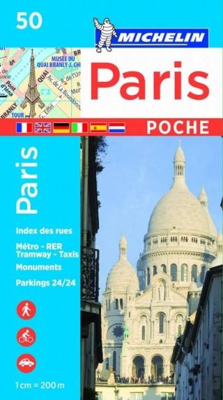 Paris Plan Poche 50