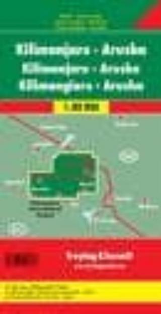Kilimanjaro y Arusha (1:50.000)