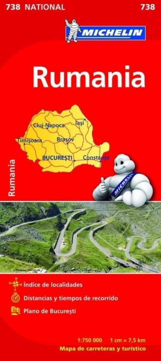 Rumanía (1:750.000)