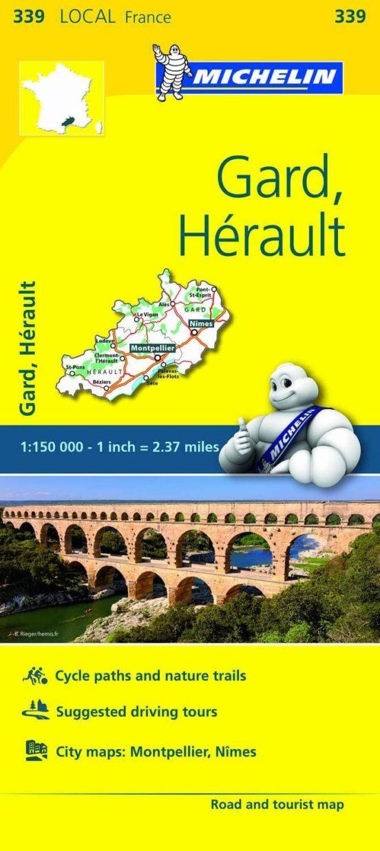 Gard, Hérault (1:150.000)