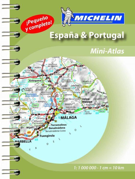 España y Portugal mini atlas de carreteras 2015 (1:1.000.000)