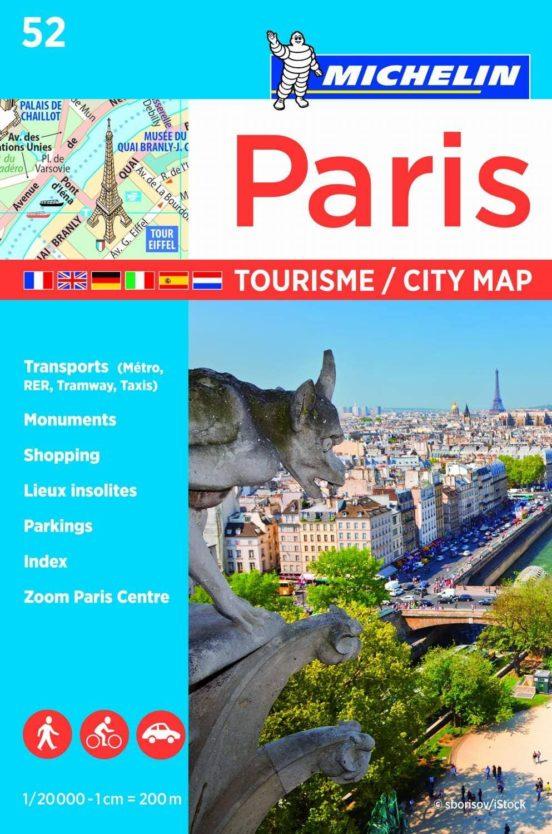 Paris 52 (1/20000) tourisme / city map