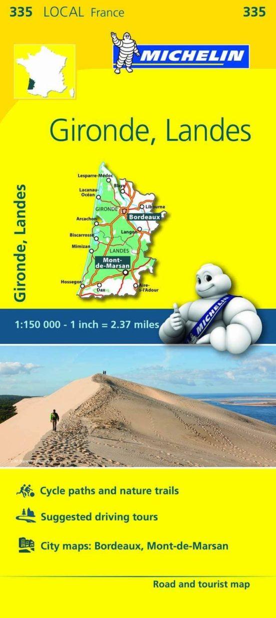 Gironde, Landes 335 (1:150.000)
