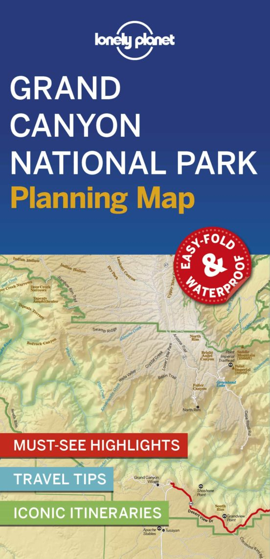 Grand Canyon National Park Planning Map 2019