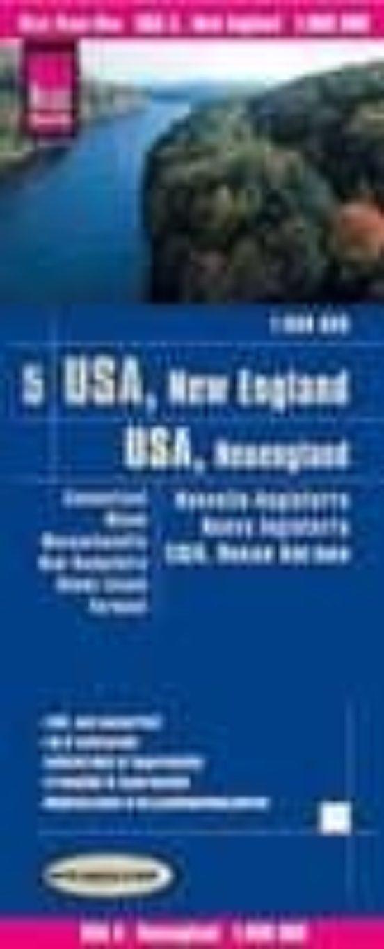 USA, New England (1:600.000)