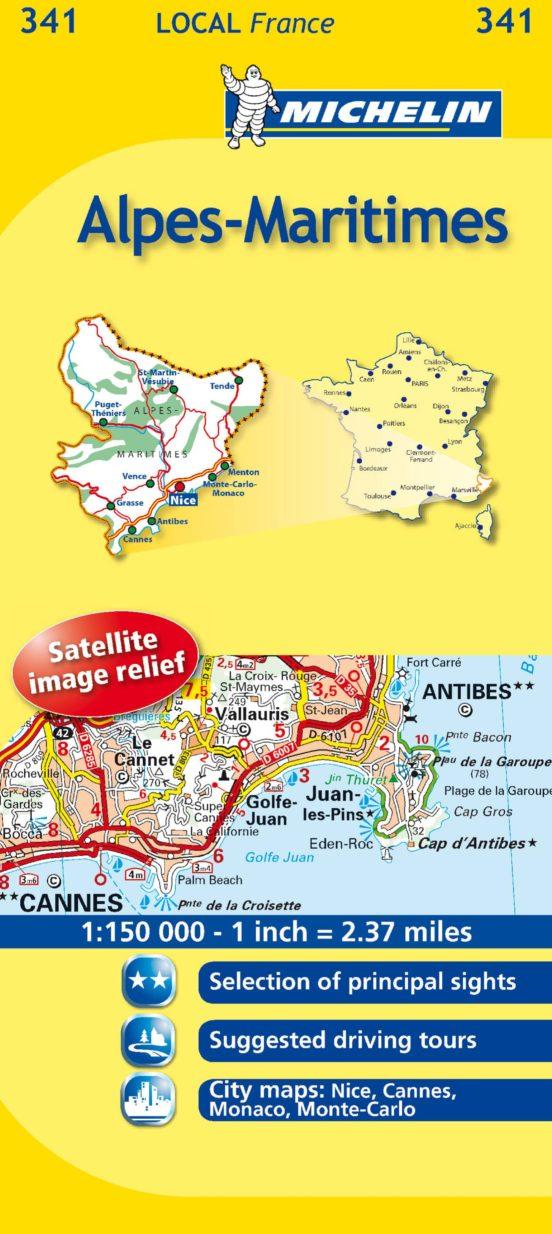 Alpes-Maritimes (1:150.000)