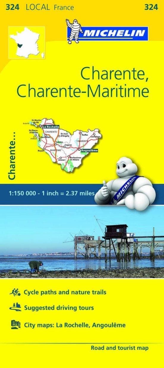 Charente, Charente-Maritime (1:150.000)