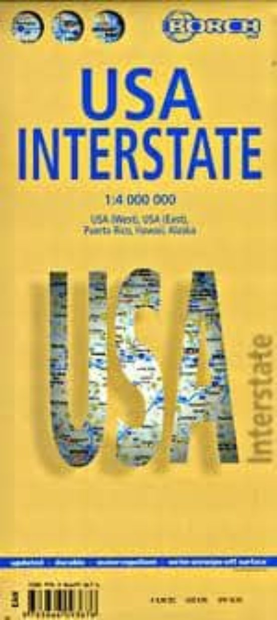 Usa Interstate (1:4.000.000)