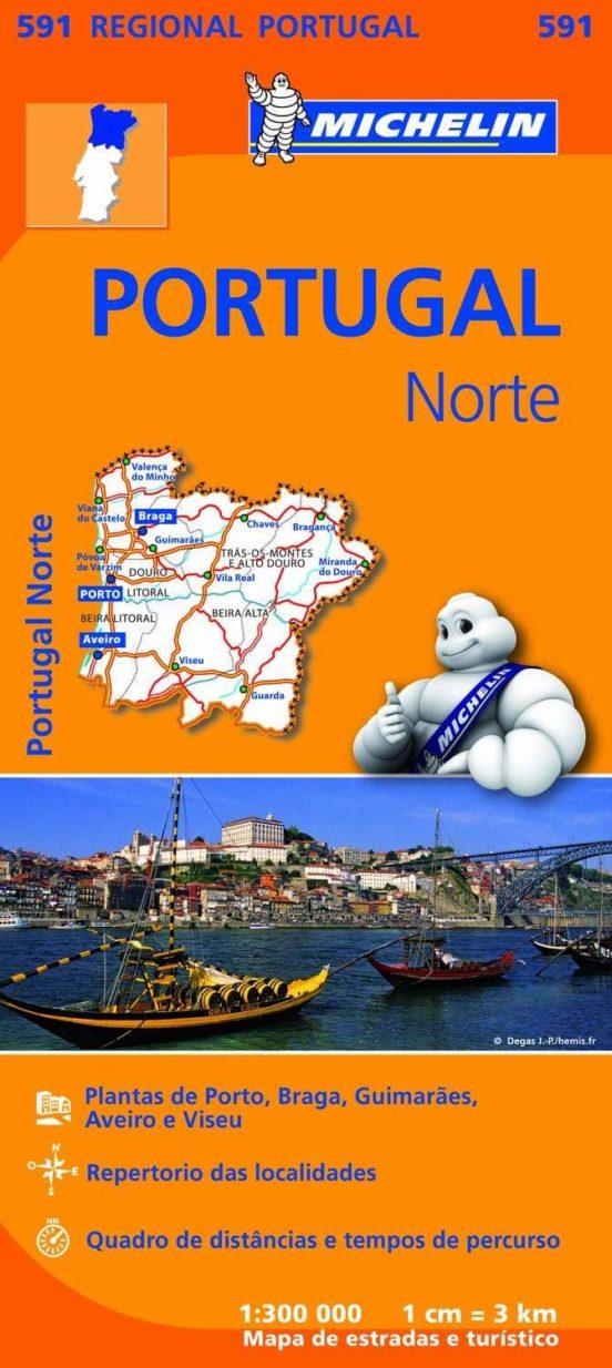 Portugal norte (1:300.000)