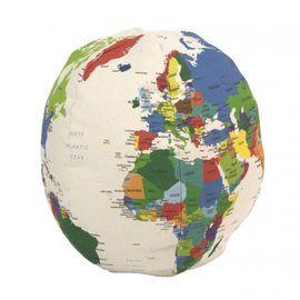Globo de tela El Mundo 30 cm
