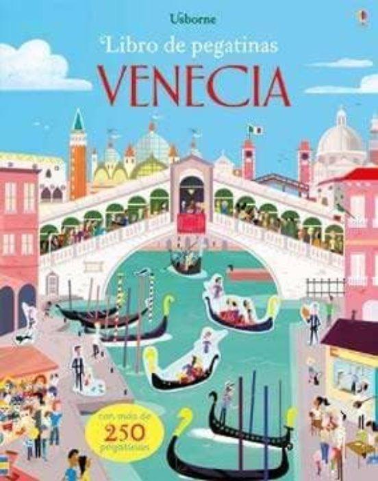 Venecia libro de pegatinas