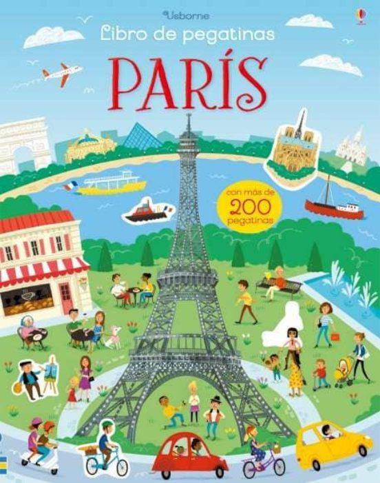 París. Libro de pegatinas