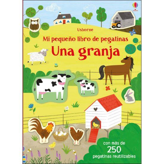 Una granja. Mi pequeño libro de pegatinas