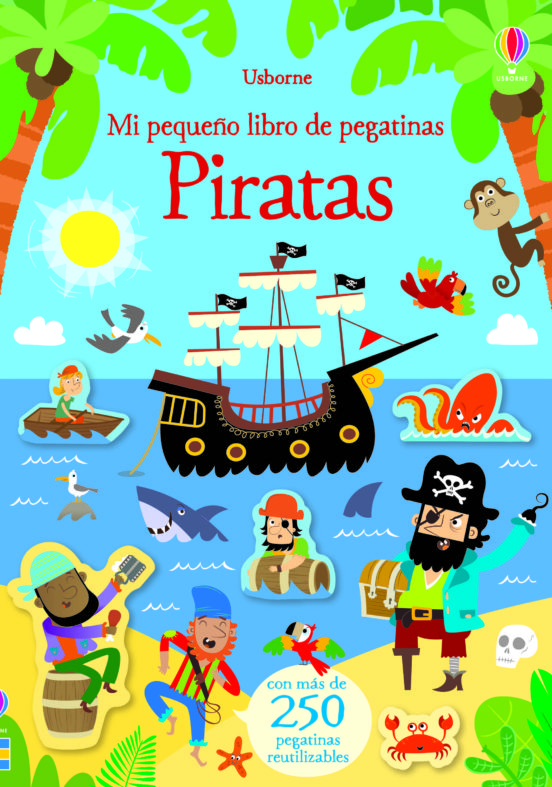 Piratas. Mi pequeño libro de pegatinas