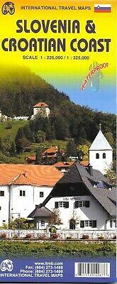 Slovenia & Croatia coast 1:225,000 / 1:325,000