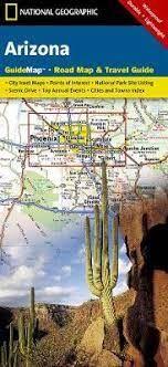 Arizona Guide Map