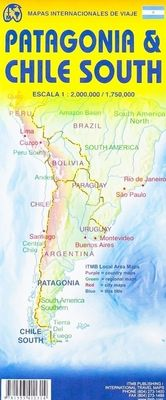 Chile South & Patagonia (1:1.770.000)
