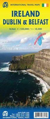 Dublin Belfast & Ireland (1.12.500) (1:500.000)