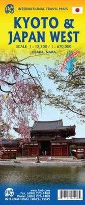 Japan West & Kyoto (1:1670.000/12.500)