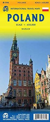 Poland (1:650.000). Warsaw