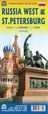 Russia West & St. Petersburg (1:3.200.000) (1:14.000)