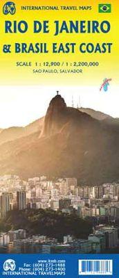 Rio de Janeiro (1:12.500) & Brazil East Coast