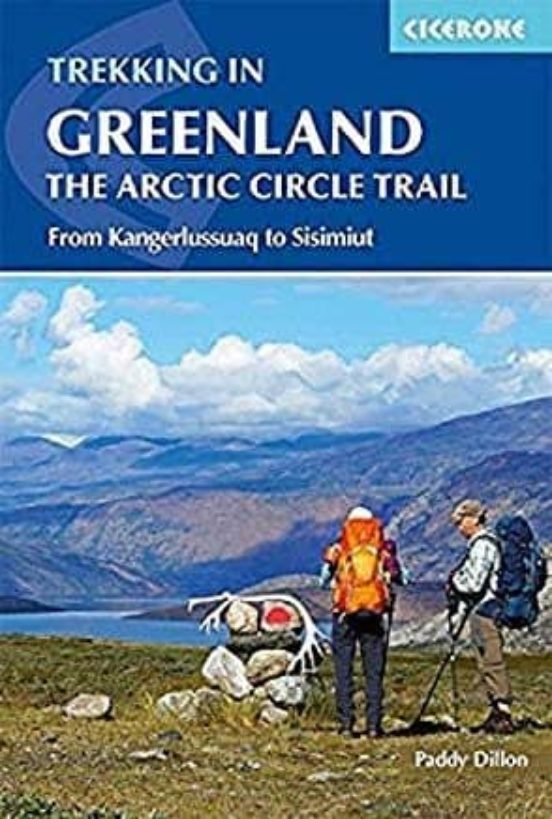 Trekking in Greenland. The Artic Circle Trail. From Kangerlussuaq to Sisimiut