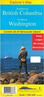 Southwest British Columbia, Northern Washington (1:840.000)