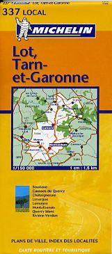 Lot, Tarn-et-Garonne (1:150.000)