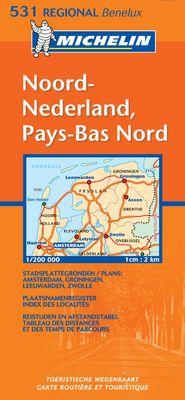 Noord Nederland, Pays-Bas Nord (1:200.000)