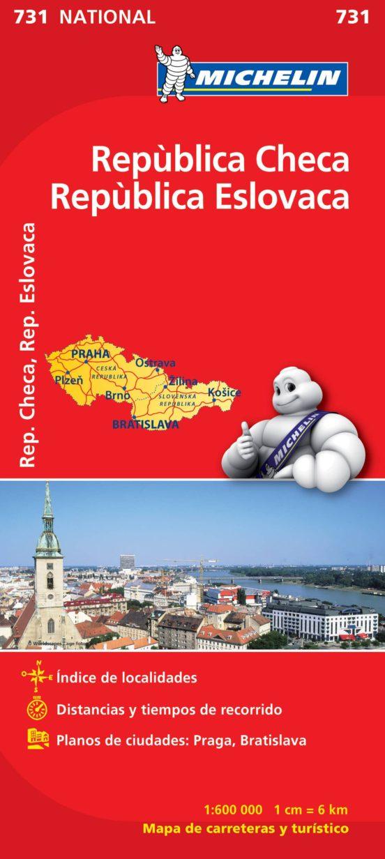 República Checa. República Eslovaca (1:600.000)