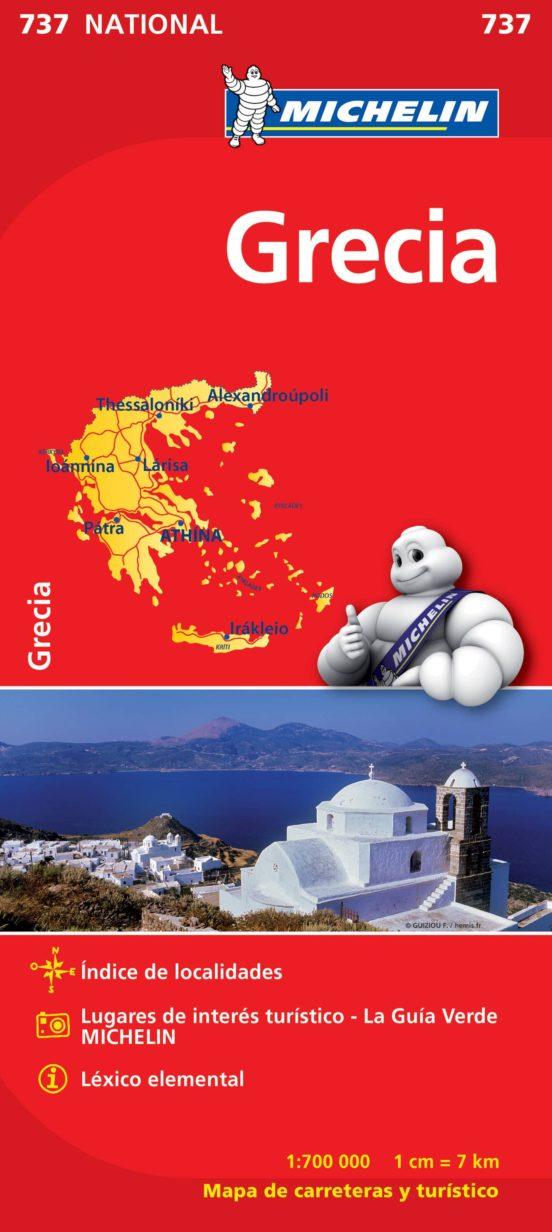 Grecia (1:700.000)