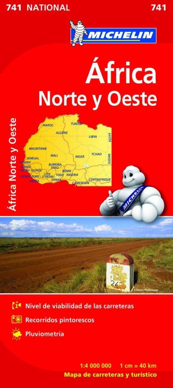 Africa Norte y Oeste (1:4.000.000)