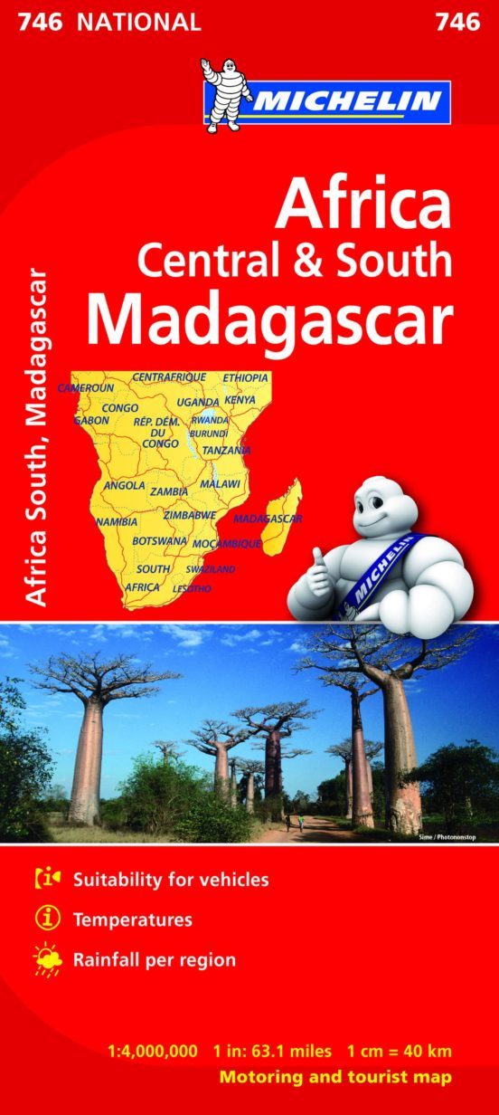 África Centro y Sur. Madagascar (1:4.000.000)