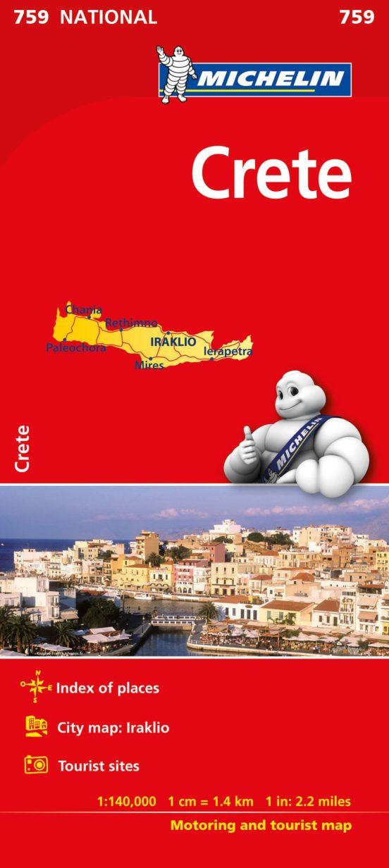 Creta (1:140.000)