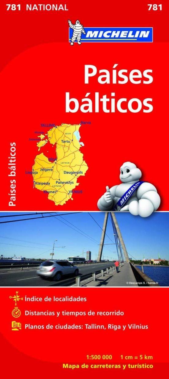 Países Bálticos (1:500.000)