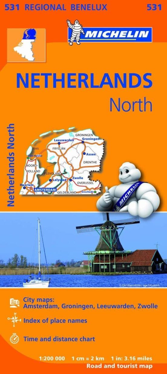 Netherlands North 1:200000. 531