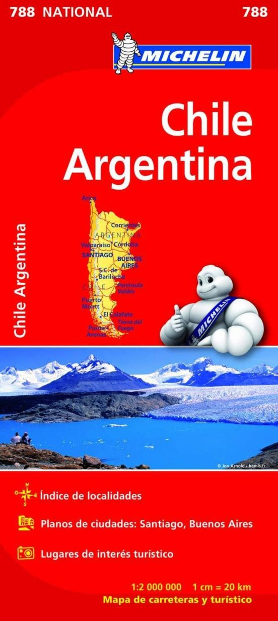 Chile Argentina 788. National 1:2.000.000