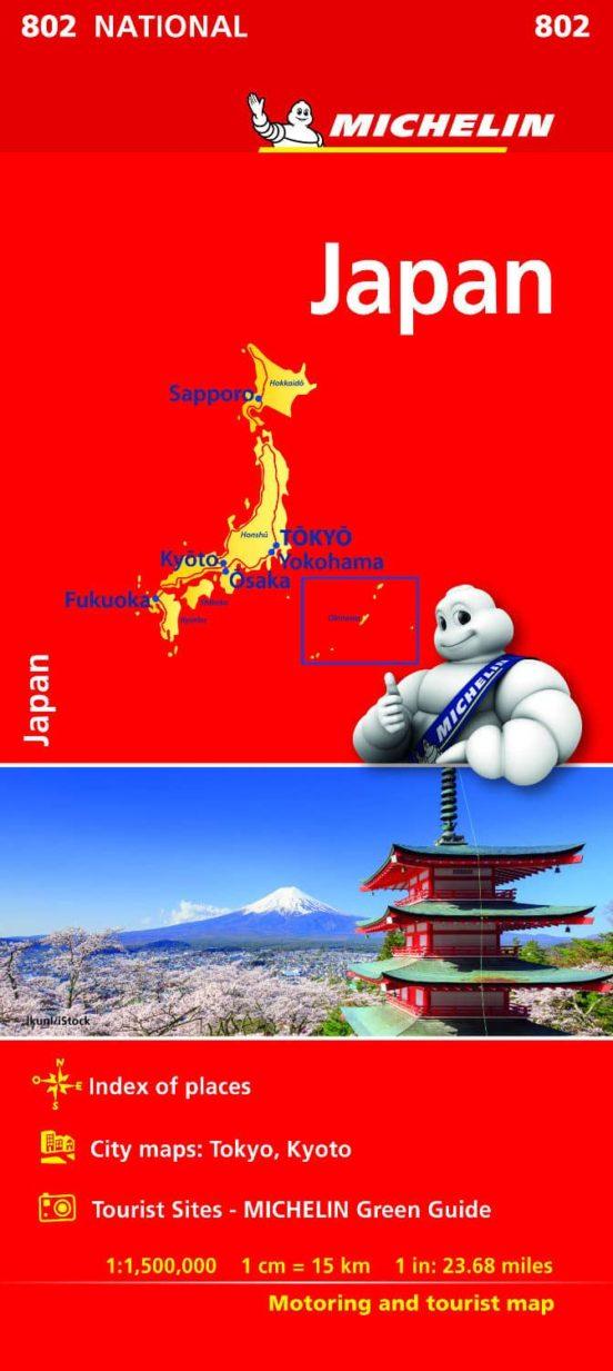 Japan 802. 1:1.500.000
