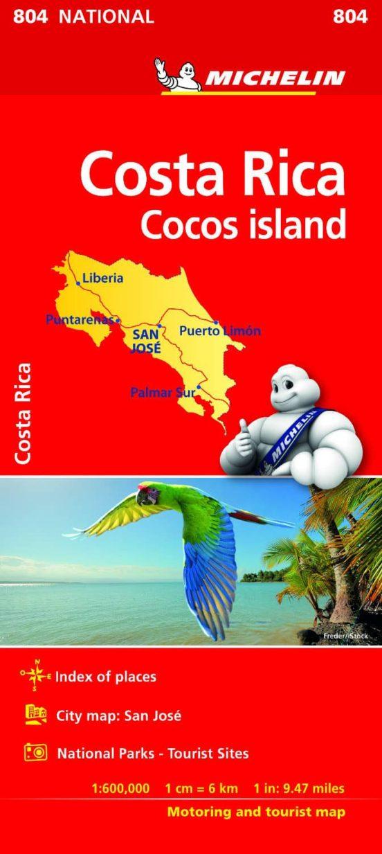 Costa Rica 804. 1:600.000