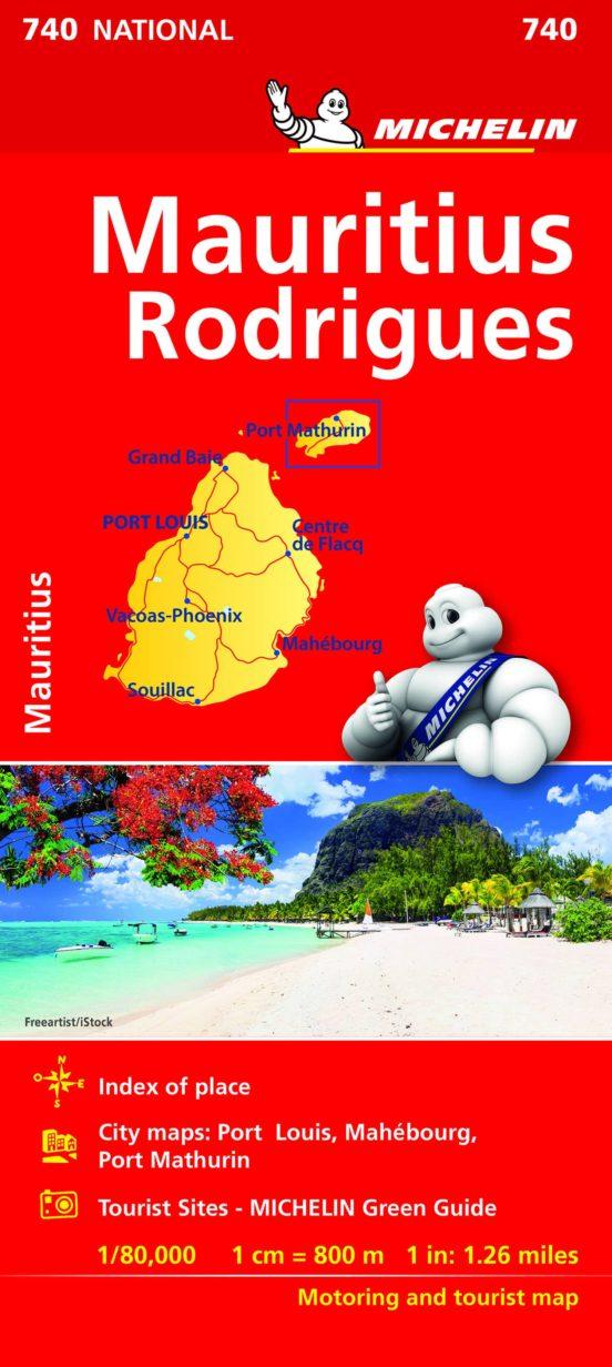 Islas Mauricio y Rodrigues (1:80.000)
