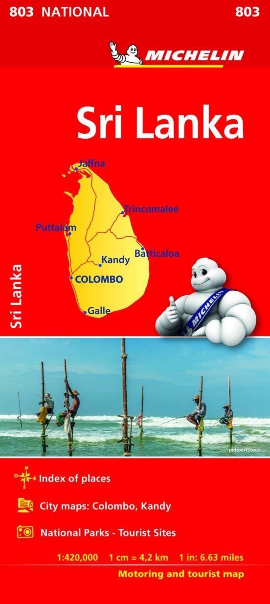 Sri Lanka 803. 1:420.000